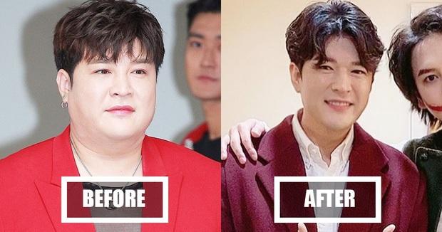 2 nam idol Kpop khoe thành tích giảm 37kg đáng nể: người tự hào có bắp tay lên cơ chuột, kẻ lại tự tin cởi áo show body 8 múi - Ảnh 2.