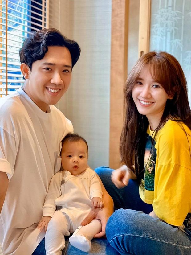 Vợ chồng Trấn Thành hào hứng khoe loạt ảnh bên cháu ruột, thả thính nhẹ chuyện có con làm fan liên tục hối thúc sớm sinh em bé - Ảnh 3.