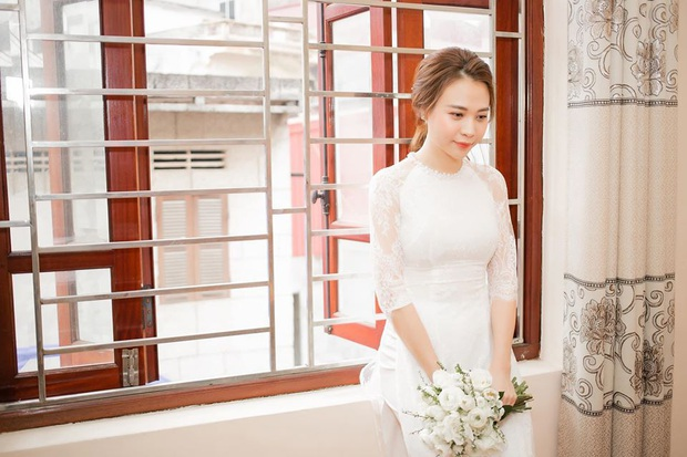 Tròn 1 năm kết hôn, Đàm Thu Trang lần đầu hé lộ loạt khoảnh khắc hiếm khoe cận nhan sắc cô dâu trong ngày theo chồng về dinh - Ảnh 2.