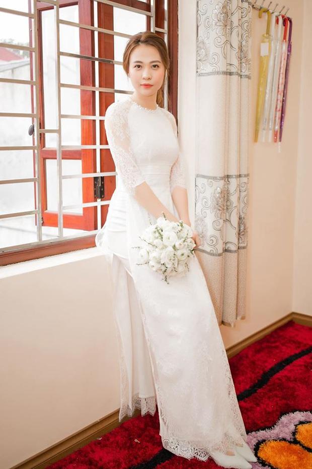 Tròn 1 năm kết hôn, Đàm Thu Trang lần đầu hé lộ loạt khoảnh khắc hiếm khoe cận nhan sắc cô dâu trong ngày theo chồng về dinh - Ảnh 3.