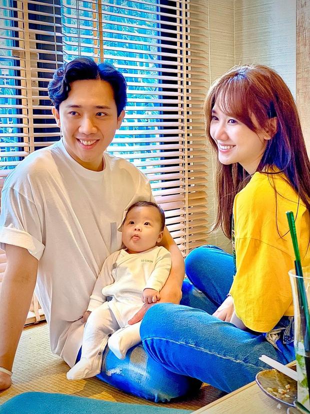 Vợ chồng Trấn Thành hào hứng khoe loạt ảnh bên cháu ruột, thả thính nhẹ chuyện có con làm fan liên tục hối thúc sớm sinh em bé - Ảnh 2.