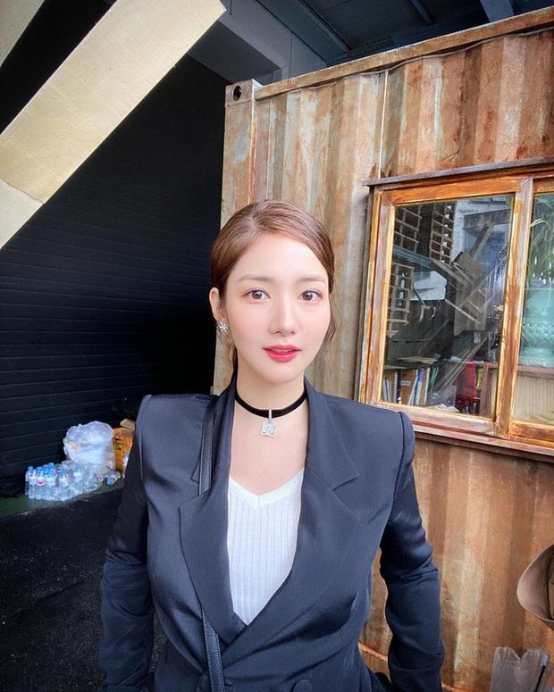 Park Min Young khoe nhan sắc cực xinh ở tuổi 34       sau khi bạn trai cũ Lee Min Ho công khai tình tứ với người đẹp khác - Ảnh 2.
