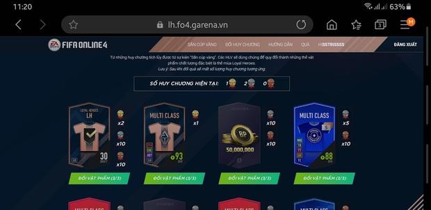 FIFA Online: Game thủ điên tiết vì bỏ sức cày cuốc sự kiện Chinh phục siêu cúp của nhưng chỉ nhận trái đắng - Ảnh 4.