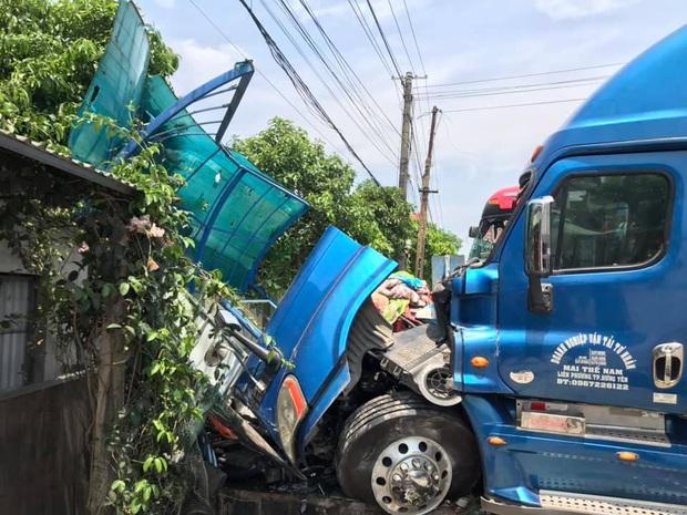 Vụ container đấu đầu xe khách khiến 1 người chết: Nhà thầu tự ý phân làn, sửa chữa đường - Ảnh 2.