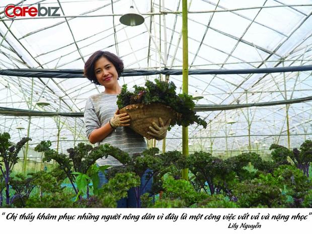 Từ bỏ chức vụ hiệu trưởng để theo đuổi công việc trồng rau trên Đà Lạt, cô chủ The Liittle Pine: Làm nông cũng như làm giáo dục - Ảnh 3.