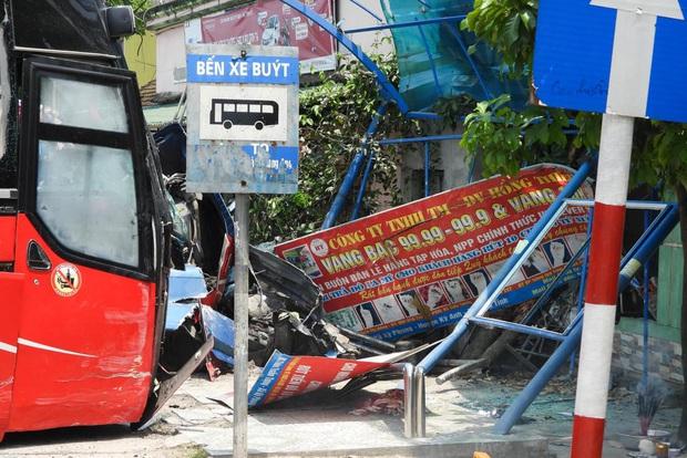 Vụ container đấu đầu xe khách khiến 1 người chết: Nhà thầu tự ý phân làn, sửa chữa đường - Ảnh 5.