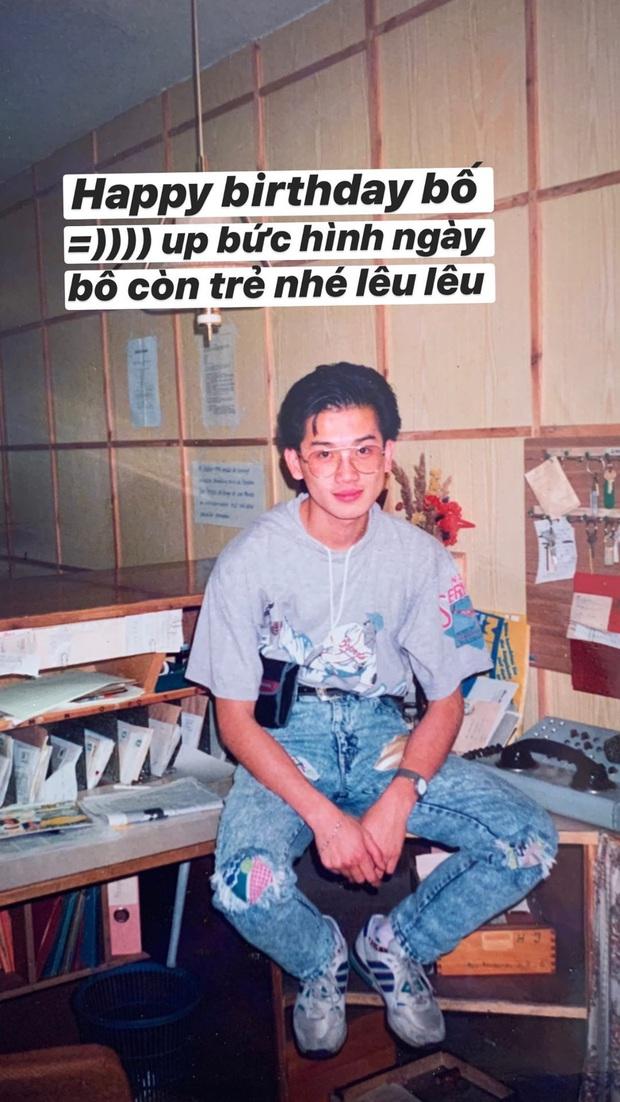 Bố Á hậu Huyền My hồi trẻ đẹp trai như Tô Hữu Bằng, gu ăn mặc xứng đáng cho 10 điểm tròn - Ảnh 1.