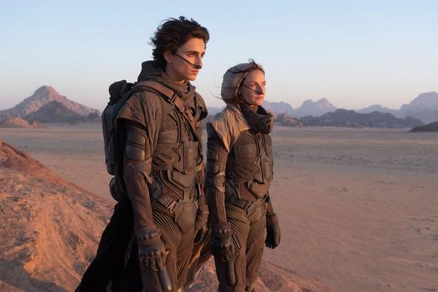 Lộ ảnh hành động siêu xịn nhìn mà mê của chàng thơ Timothée Chalamet ở bom tấn Dune - Ảnh 1.