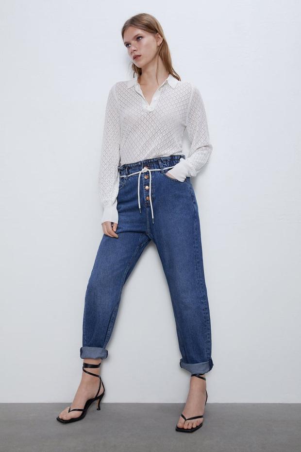 10 mẫu quần mặc đi làm mát mẻ dễ mix đồ giá dưới 500k mà bạn nên tranh thủ vợt ngay từ Zara và Uniqlo - Ảnh 5.
