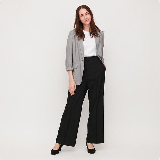 10 mẫu quần mặc đi làm mát mẻ dễ mix đồ giá dưới 500k mà bạn nên tranh thủ vợt ngay từ Zara và Uniqlo - Ảnh 8.