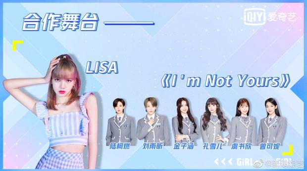 """Tương lai màn collab của Lisa và học trò: """"Lạp lão sư"""" diễn trên TV còn trainee… nhảy múa xung quanh giống tiết mục của cựu thành viên EXO năm nào? - Ảnh 1."""