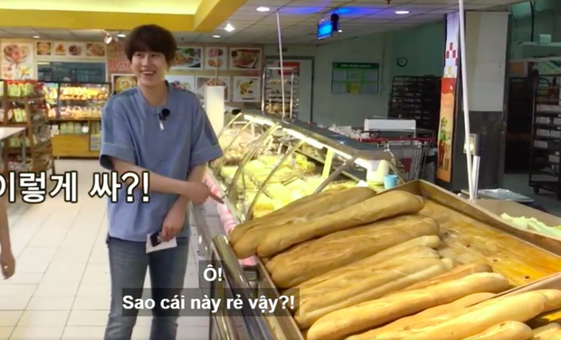 Chuyện xưa nhắc lại vẫn cười mệt: Dàn sao Hàn sang Việt Nam hốt hoảng vì thấy… bánh mì khổng lồ bán trong Big C, sao bự dữ vậy? - Ảnh 3.