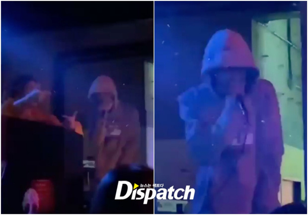 """NÓNG: Dispatch """"khui"""" loạt ảnh Mino (WINNER) đến club trong thời gian giãn cách xã hội, đeo khẩu trang sai cách khi biểu diễn - Ảnh 4."""