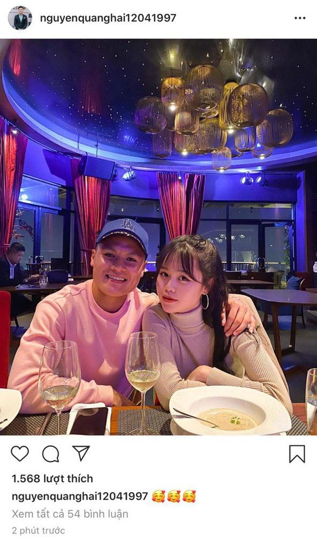 Quang Hải đăng hình với Huỳnh Anh cùng biểu tượng trái tim: Chuyện hẹn hò đã không còn là lời đồn nữa! - Ảnh 2.