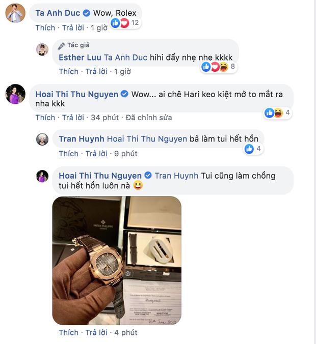 """Được cưng chiều, hội những bà vợ Vbiz cũng tận tình """"đáp lễ"""" nửa kia: Hari Won tặng đồng hồ hơn 1 tỷ đồng, Đàm Thu Trang cưới liền 2 siêu xe - Ảnh 4."""