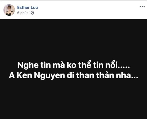 Ngô Kiến Huy, Hari Won và dàn sao Vbiz bàng hoàng xót thương khi hay tin NTK Ken Nguyễn qua đời ở tuổi 41 - Ảnh 2.