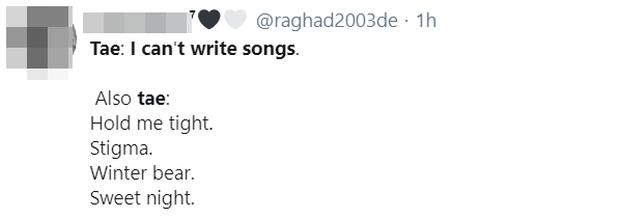 """V (BTS) được khen nức nở khi khoe ca khúc tự sáng tác vốn bị """"ém hàng"""", thế mà tự nhận… không biết viết nhạc khiến fan """"giận tím người"""" - Ảnh 5."""