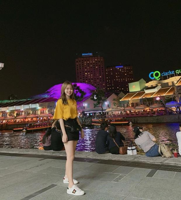 Bạn gái rich kid của Quang Hải sở hữu loạt túi hiệu từ Gucci đến Chanel, đi du lịch sương sương cũng phải mang vali Louis Vuitton sành điệu - Ảnh 6.