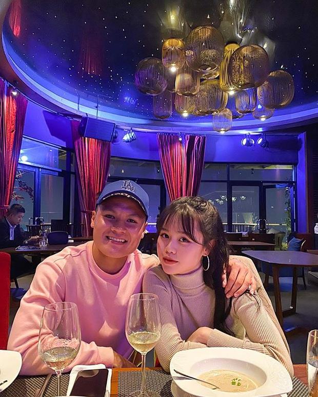 Quang Hải đặt trạng thái hẹn hò Huỳnh Anh trên Facebook cá nhân - Ảnh 2.