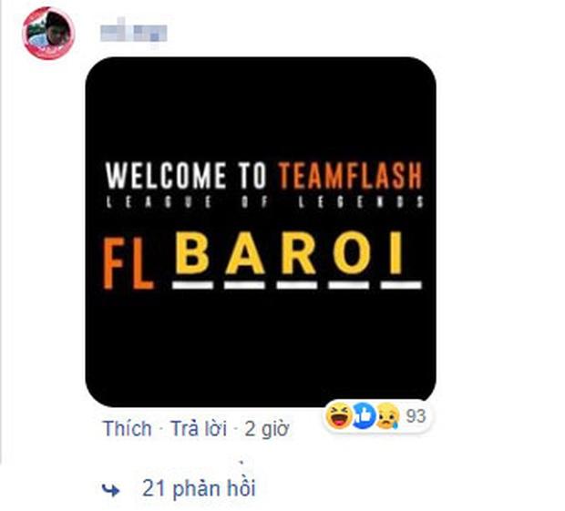 Đương kim vô địch VCS Team Flash úp mở thành viên mới, fan lầy lội gọi tên Zeros, Baroi, Faker - Ảnh 7.