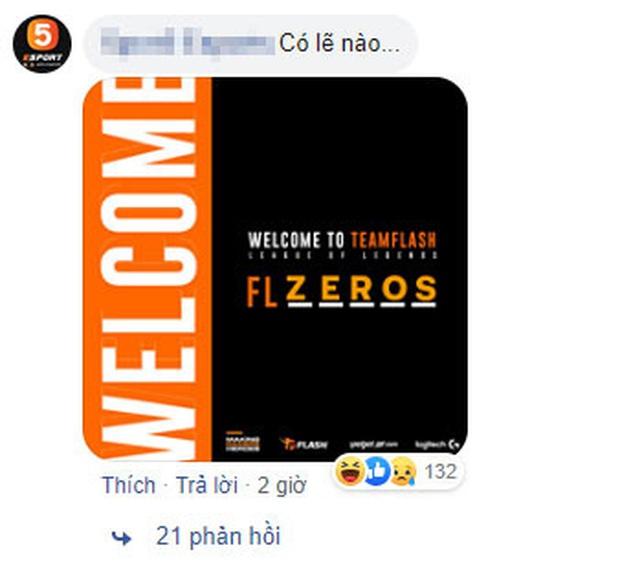 Đương kim vô địch VCS Team Flash úp mở thành viên mới, fan lầy lội gọi tên Zeros, Baroi, Faker - Ảnh 4.
