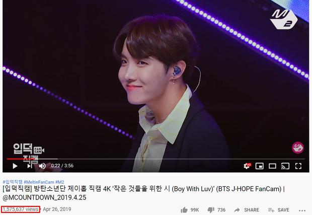 """Top 15 fancam của nam idol trên Mnet: View của quán quân gấp đôi hạng 2, fancam thành viên nhóm """"em trai"""" BTS được Knet gọi là huyền thoại - Ảnh 20."""