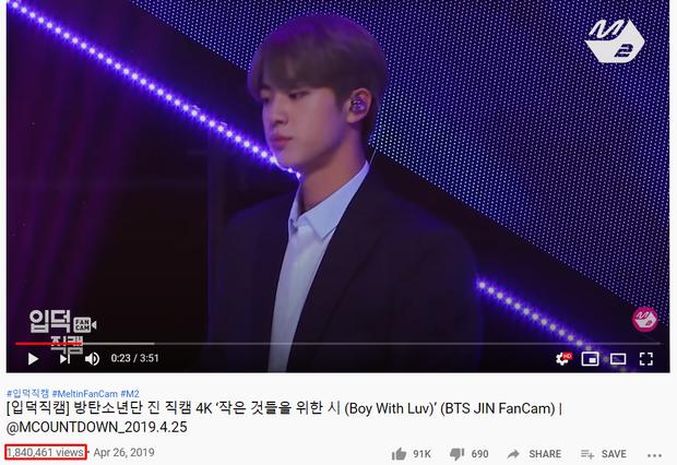 """Top 15 fancam của nam idol trên Mnet: View của quán quân gấp đôi hạng 2, fancam thành viên nhóm """"em trai"""" BTS được Knet gọi là huyền thoại - Ảnh 22."""