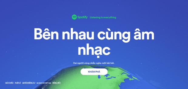 Spotify ra mắt website cho thấy ai đang nghe cùng bài với mình, giới thiệu playlist nhạc do Vũ Cát Tường và nhiều nghệ sỹ chủ động tiếp quản - Ảnh 1.
