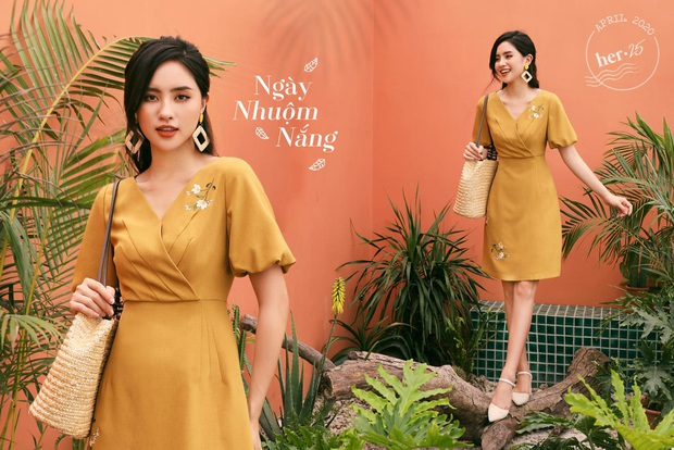 14 mẫu váy liền mỏng mát mà cực kỳ sang chảnh giá chỉ từ 300k: Nàng công sở tha hồ điệu đà trong Hè này - Ảnh 1.