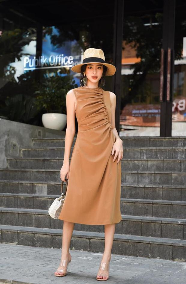 14 mẫu váy liền mỏng mát mà cực kỳ sang chảnh giá chỉ từ 300k: Nàng công sở tha hồ điệu đà trong Hè này - Ảnh 2.
