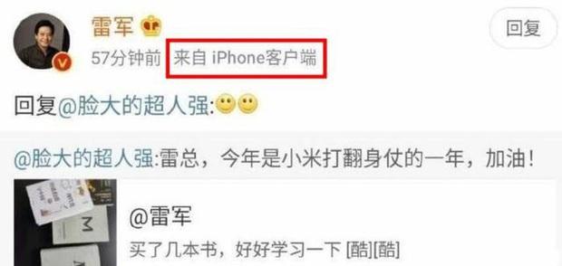 Bị bắt quả tang dùng iPhone, CEO Xiaomi may mắn được bênh vực kịp thời để tránh gạch đá từ fan - Ảnh 1.