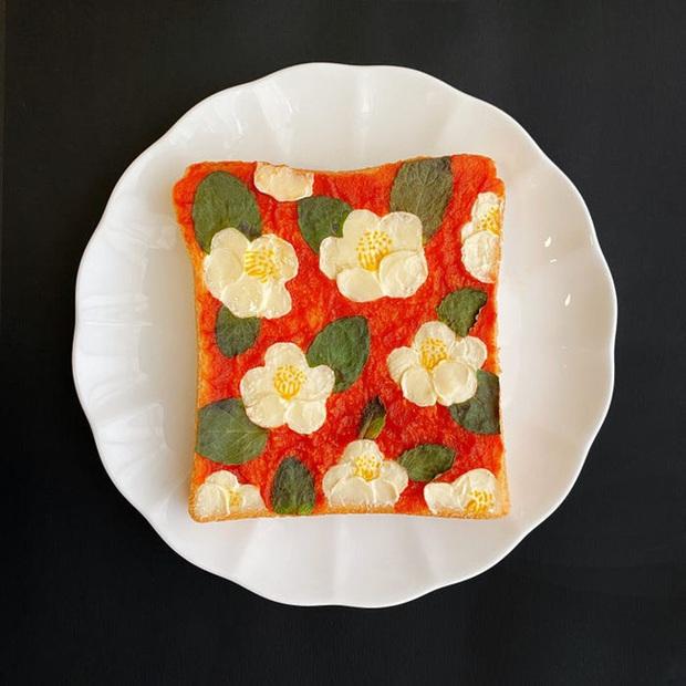Học nghệ sĩ Nhật làm cho bữa sáng của mình trở nên thú vị bằng cách biến bánh mì thành những bức tranh tuyệt đẹp - Ảnh 8.