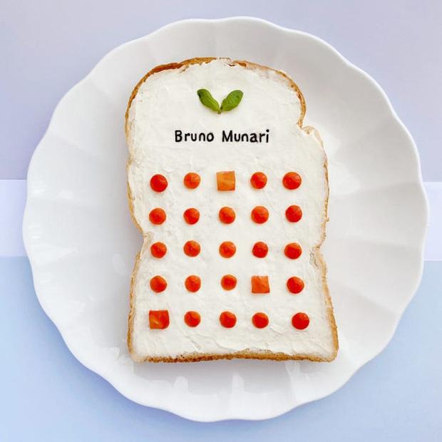 Học nghệ sĩ Nhật làm cho bữa sáng của mình trở nên thú vị bằng cách biến bánh mì thành những bức tranh tuyệt đẹp - Ảnh 9.