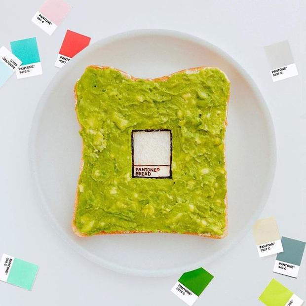 Học nghệ sĩ Nhật làm cho bữa sáng của mình trở nên thú vị bằng cách biến bánh mì thành những bức tranh tuyệt đẹp - Ảnh 11.