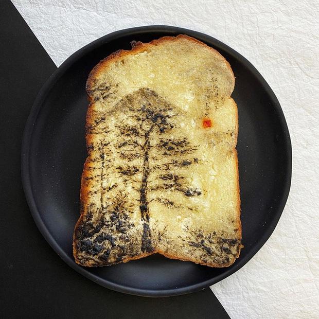 Học nghệ sĩ Nhật làm cho bữa sáng của mình trở nên thú vị bằng cách biến bánh mì thành những bức tranh tuyệt đẹp - Ảnh 12.