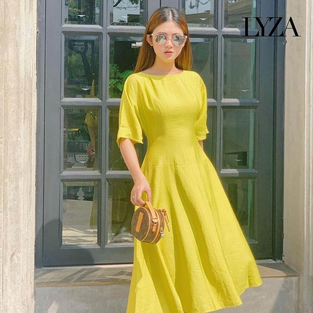 14 mẫu váy liền mỏng mát mà cực kỳ sang chảnh giá chỉ từ 300k: Nàng công sở tha hồ điệu đà trong Hè này - Ảnh 4.
