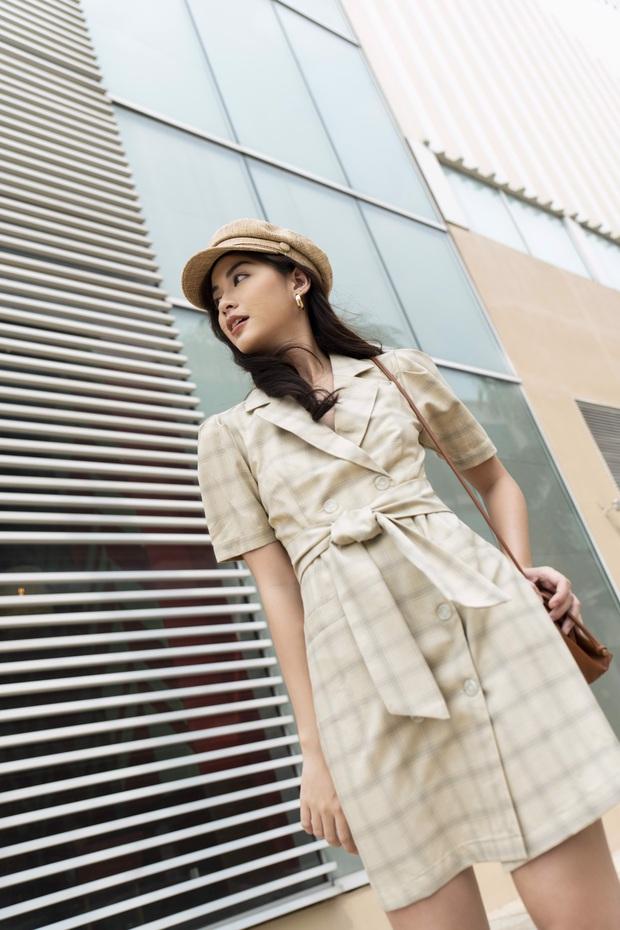14 mẫu váy liền mỏng mát mà cực kỳ sang chảnh giá chỉ từ 300k: Nàng công sở tha hồ điệu đà trong Hè này - Ảnh 6.