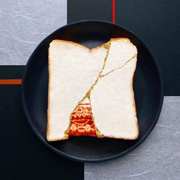 Học nghệ sĩ Nhật làm cho bữa sáng của mình trở nên thú vị bằng cách biến bánh mì thành những bức tranh tuyệt đẹp - Ảnh 6.