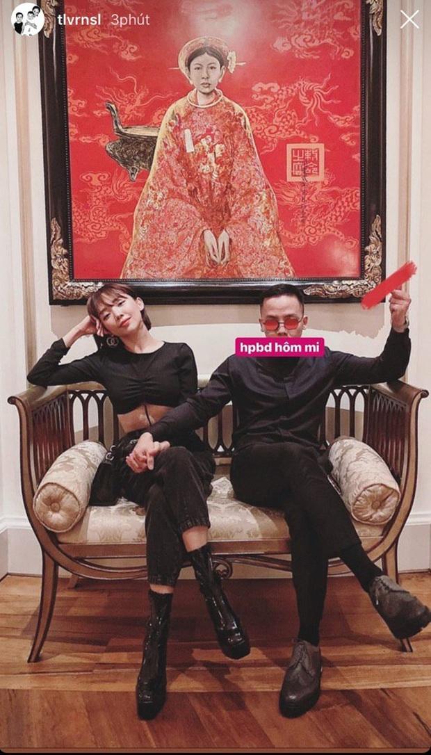 Hoàng Touliver mừng sinh nhật Tóc Tiên: Chẳng cần nói nhiều, chỉ một bức ảnh đã đủ thấy hạnh phúc phát ghen  - Ảnh 2.
