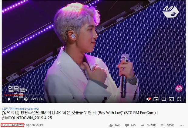 """Top 15 fancam của nam idol trên Mnet: View của quán quân gấp đôi hạng 2, fancam thành viên nhóm """"em trai"""" BTS được Knet gọi là huyền thoại - Ảnh 18."""