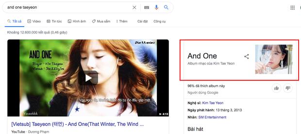 Có thể bạn chưa biết: Tìm kiếm từ khóa And One Taeyeon sẽ cho ra kết quả hình ảnh của... nữ ca sĩ Min, ủa là sao? - Ảnh 1.