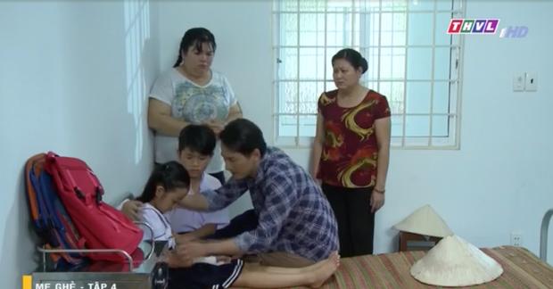 Mẹ Ghẻ tập 4 tràn đầy sự khó hiểu: Người vỡ ruột thừa cả ngày vẫn tỉnh, kẻ vội cấp cứu vì ngã xe sương sương - Ảnh 9.