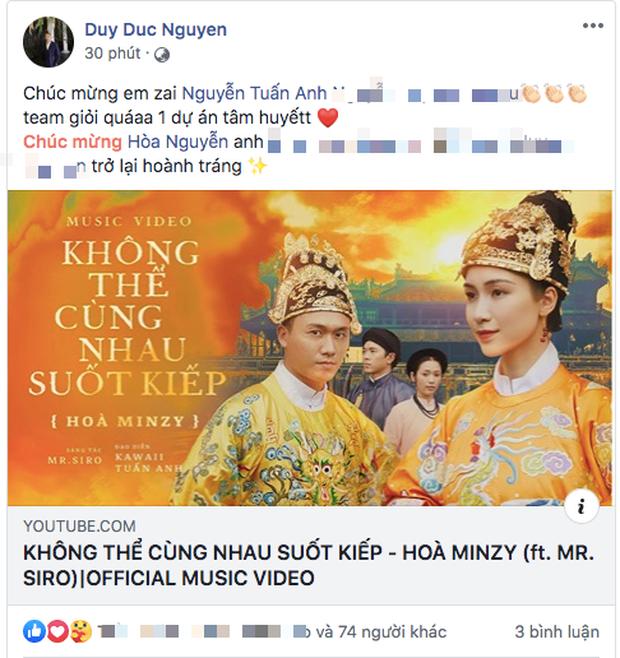 Châu Đăng Khoa, Jun Phạm, K-ICM và loạt sao Việt khen ngợi MV mới của Hòa Minzy nhưng netizen lại có phản ứng trái chiều - Ảnh 8.