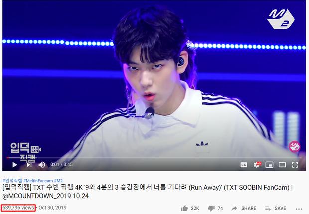 """Top 15 fancam của nam idol trên Mnet: View của quán quân gấp đôi hạng 2, fancam thành viên nhóm """"em trai"""" BTS được Knet gọi là huyền thoại - Ảnh 4."""