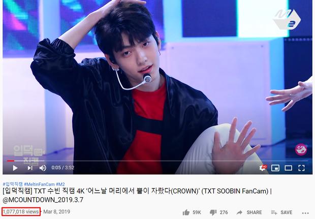 """Top 15 fancam của nam idol trên Mnet: View của quán quân gấp đôi hạng 2, fancam thành viên nhóm """"em trai"""" BTS được Knet gọi là huyền thoại - Ảnh 14."""