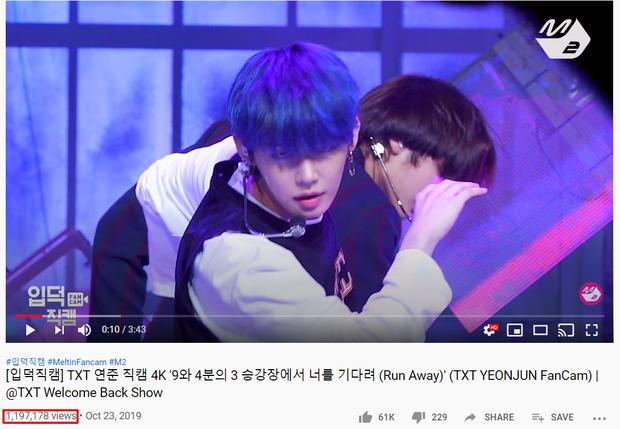 """Top 15 fancam của nam idol trên Mnet: View của quán quân gấp đôi hạng 2, fancam thành viên nhóm """"em trai"""" BTS được Knet gọi là huyền thoại - Ảnh 16."""
