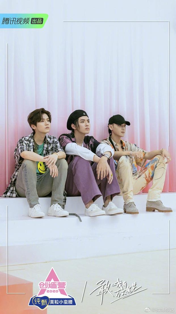 Màn hội ngộ thế kỷ của Luhan, Kris, Tao tại Sáng Tạo Doanh fan nức nở: Visual cả bộ ba vẫn xuất sắc như ngày nào! - Ảnh 2.