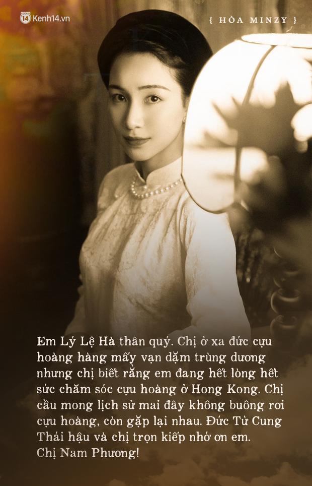 Bức thư Nam Phương Hoàng hậu dặn dò người tình của Vua Bảo Đại, có một câu phải nhớ cả đời - Ảnh 2.