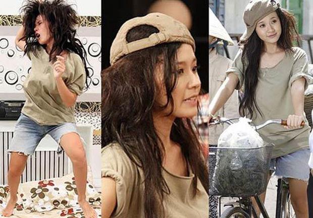 7 pha phá hoại dung nhan vì vai diễn đáng nể của mỹ nhân Việt: Đỉnh cao nhất là màn lột da toàn thân của Thúy Ngân - Ảnh 5.