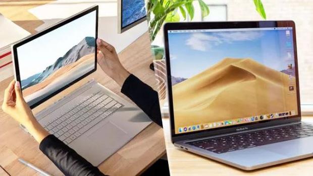 Surface Book 3 đối đầu với MacBook Pro 2020: Kẻ tám lạng, người nửa cân, xứng danh anh hào laptop thế giới - Ảnh 1.